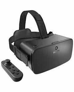 DESTEK 2021 V5 VR Headset, 110°FOV Anti-Blue Light Eye Protected Virtual Reality