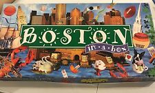 BOSTON IN-A-BOX~MONOPOLY GAME~LATE FOR THE SKY~Contents Sealed & Unpunched