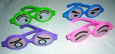 12 pair Weird Funny Emotion Eyeglasses Joke Gag Plastic Eye Spectacle Glasses :)
