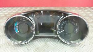 2013 Peugeot 3008 HYbrid 2.0 Diesel/Electric Automatic Speedo Instrument Cluster