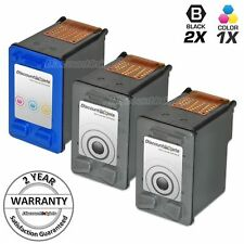 3 BLK CLR Ink Cartridge for HP 56 57 C6656 C6657 PSC 1355 2100 2108 2110 2115