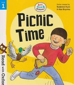 Oxford Reading: Biff, Chip & Kipper: Stage 1 Read with Oxford - PICNIC TIME  New