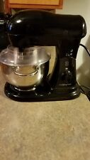 10 Speed Wolfgang Puck 600 Watt Pro Stand Mixer with accessories
