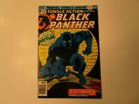 1976 JUNGLE ACTION #23  BLACK PANTHER IN FINE + CONDITION.,