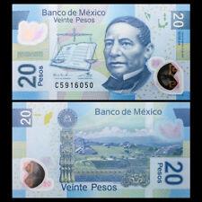 Mexico 20 Pesos, 2016, P-122 NEW, Polymer, UNC