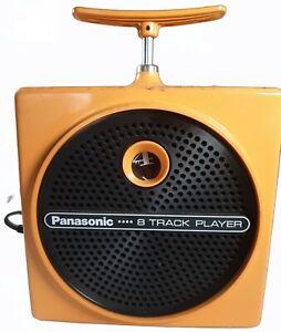 Panasonic 8 Track Player TNT  Dynamite  RQ-830S Yellow Works Vintage