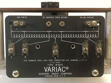 GUARANTEED!!! TECHNIPOWER VARIAC 240/280V VARIABLE AUTOTRANSFORMER W-50-H W50H