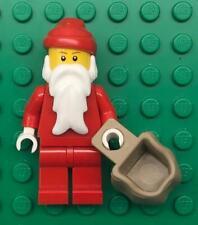 Lego Vintage Weihnachtsmann Minifig Menge: Winter Weihnachten Dorf Urlaub