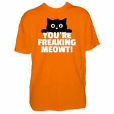 T-shirt orange pour fille de 2 à 16 ans en 100% coton