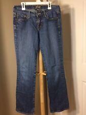 Lucky Brand Womens Jeans Sz 4/27 Waist 30 Inseam 29 Blue J
