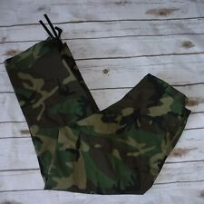 Gore Tex Camo Seam Sealed Military Trouser Cold Weather Pants sz Small Regular