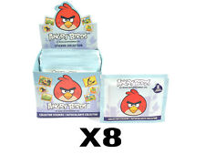 (8) Angry Birds Collector Sticker 50 Pack Boxes (8 Per Pack) Official Rovio