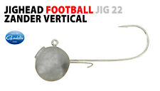 SPRO Zander Vertical Football Jigs 22 4/0 30g zander pike jig heads