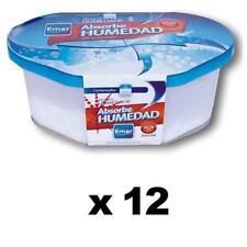 PACK 12 unidades 1106 - Absorbe Humedad 300 Ml. capacidad hermético anti-vertid