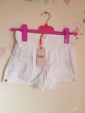 Ted Baker Girls Textured White Shorts. 8 Years. Rrp £24.00. Designer