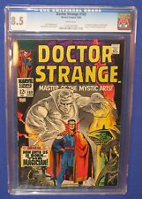 Marvel Doctor Strange #169 Comic Book CGC Graded 8.5 First Own Title Origin 1968