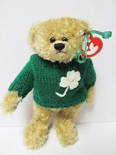 "Ty Attic Treasures - ""Blarney"" the Irish Bear - Brand New w/Mint Tags"