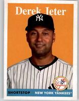 2019 Topps Archives 1958 Base Card #1 Derek Jeter Yankees
