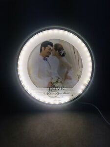 light up photo frame USB Connected