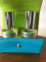 Rare Vintage AQUAMARINE Revlon Mist & Perfume Oil Spray .75 oz Ea. GIFT SET CASE
