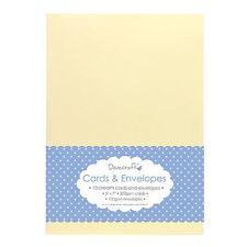 Dovecraft Cards & Envelopes - 5x7 10pcs Cream DCCE028