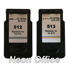 PG512 CL513 Black & Colour Ink Cartridge For Canon PIXMA MP250 Printer