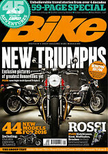 BIKE MAGAZINE January 2016 NEW TRIUMPHS 45 Years of Bike Adventures Special @NEW