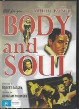 Body and Soul DVD John Garfield Lilli Palmer and Australia