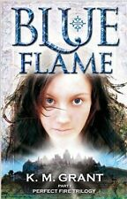 Blue Flame (Perfect Fire Trilogy), New, K.M. Grant Book