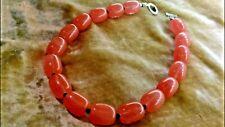 W@W! Beautiful Strawberry Rose Quartz Heavy Beaded Necklace! 130 g AMAZING!