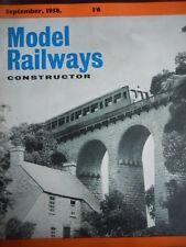 Model Railway Constructor 9 1958
