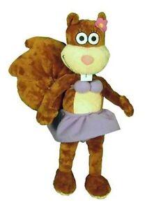 "Spongebob Squarepants Perky Sandy Cheeks Plush 12"" Dressed for Beach Doll Toy"