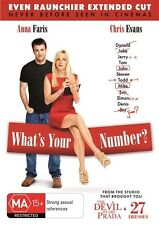 What's Your Number? (DVD, 2012)
