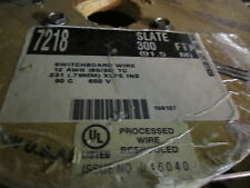 Alpha 7218 Switchboard Wire 12 awg. 300ft. SLATE XLPE INS
