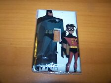 BATMAN AND ROBIN LIGHT SWITCH PLATE