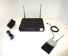Sennheiser EM1031 Receiver & SK50 Wireless Bodypack Microphone System & MKE 2-4