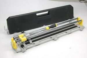 Plasplugs Powerglide 600mm Manual Tile Cutter with Case 12mm tiles