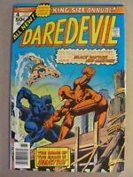 Daredevil Annual #4 Marvel Comics 1976 Sub-Mariner Black Panther app 9.0 VF/NM