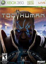 XBOX 360 Too Human Video Game co-op 1080p hack and slash combat cybernetics fun