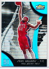 2007-08 TOPPS FINEST BLUE REFRACTOR #69 SEAN WILLIAMS RC 159/199 NETS