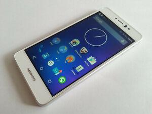 MEDION LIFE X5020 DUAL SIM 32GB WEISS NEUW.+VIELE EXTRAS+RECHNUNG+DHL VERSAND
