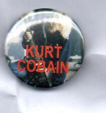 KURT COBAIN BUTTON BADGE - AMERICAN ROCK GRUNGE BAND NIRVANA -Nevermind 25mm PIN