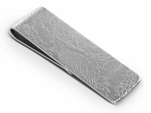 BROOKER Geldscheinklammer Silber
