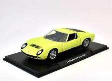 Lamborghini P 400 Miura (1968) - 1:24 DIECAST ATLAS LEO MODEL CAR -54