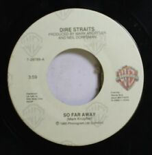 Rock 45 Dire Straits - So Far Away / If I Had You On Wb Records