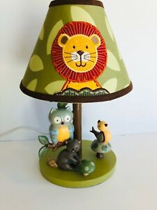 Lambs And Ivy Enchanted Forest Lamp With Sweet Jojo Designs Shade
