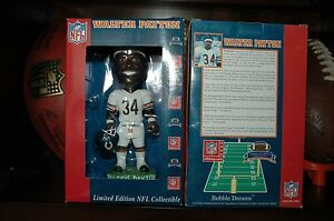 Numbered Chicago Bears Walter Payton Sweetness Bobblehead Limited Edition