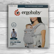 NEW! ERGOBABY 360 OMNI COOL AIR MESH ERGO BABY Carrier. AUTHENTIC. Pearl Grey