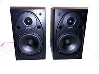 Polk Audio T15I Dynamic Balance Power Port Bookshelf Speakers, Sound Great