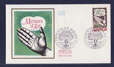 enveloppe 1er jour  les métiers d' art  Paris      1978